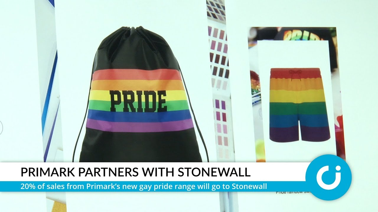 9b5492707 Primark announces new gay pride range with Stonewall - The Christian ...