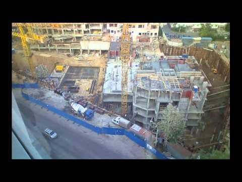 Строительство домов 6-7 Марсель и 6-8 Барселона за август 2014г.