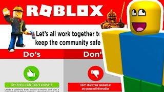 10 Roblox Regeln SIE SOLLTEN NIE BREAK!