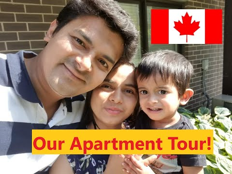 Our Canadian Apartment Tour | English Subtitles