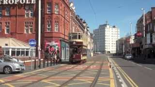 Blackpool Trams Late May Bank Holiday 2013