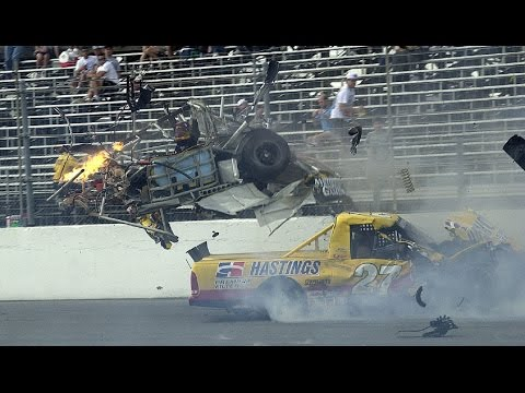 Nascar Crash Compilation #2 ~ Come With Me Now