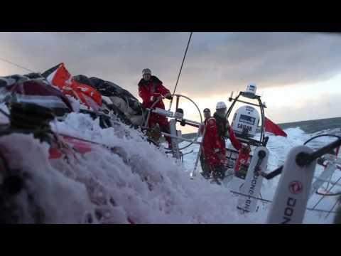 Team AzkoNobel - Volvo Ocean Race footage