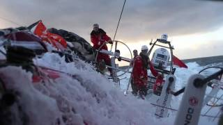 Team AzkoNobel - Volvo Ocean Race footage