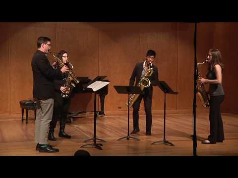 Three Gershwin Preludes for Saxophone Quartet