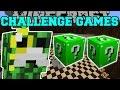 Minecraft: MEGA MAYOR CHALLENGE GAMES - Lucky Block Mod - Modded Mini-Game
