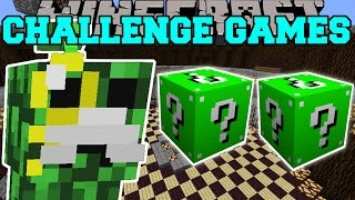 Minecraft: MEGA MAYOR CHALLENGE GAMES - Lucky Block Mod - Modded Mini-Game