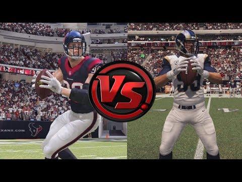 Full Team of JJ Watts vs. Full Team of Aaron Donalds - Madden NFL
