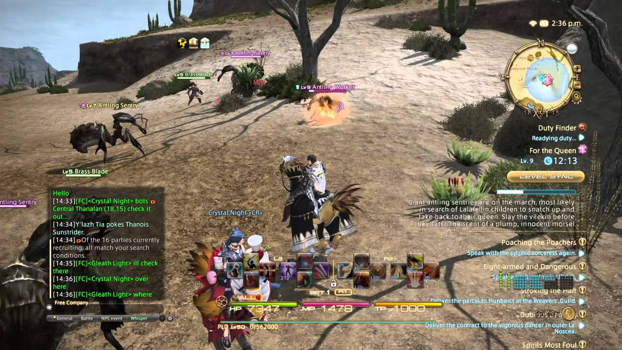 FFXIV BOT Caught and Busted by lightdave20
