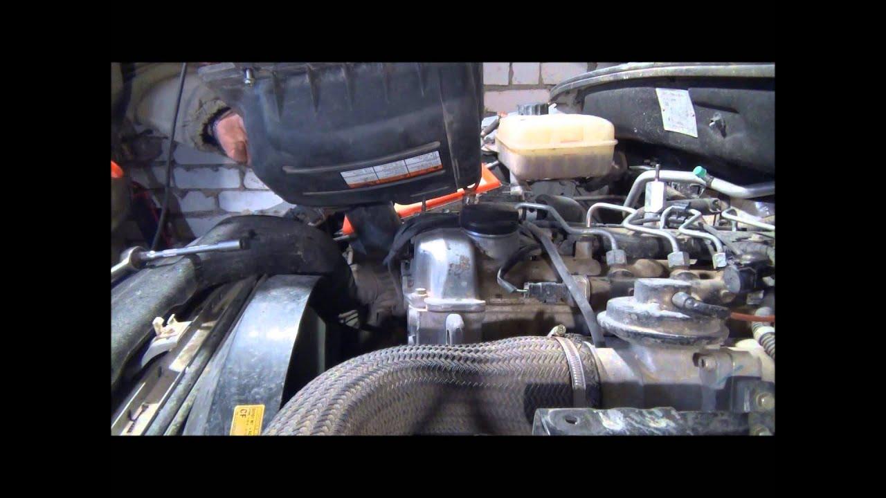 Ремонт двигателя Санг Енг Актион Ssang Yong Actyon замена VANOS