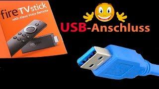 USB Festplatte an Fire TV Stick anschließen