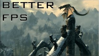 Skyrim Remastered - How to Get Better FPS on (PS4/Xbox One)