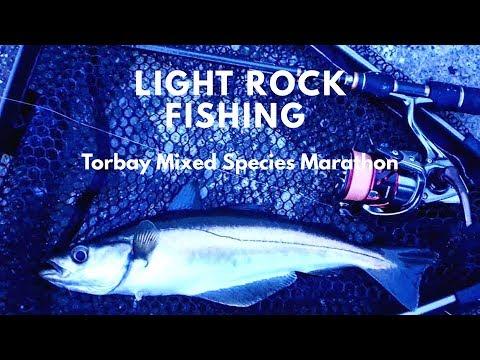 Light Rock Fishing - Torbay Mixed Species Marathon