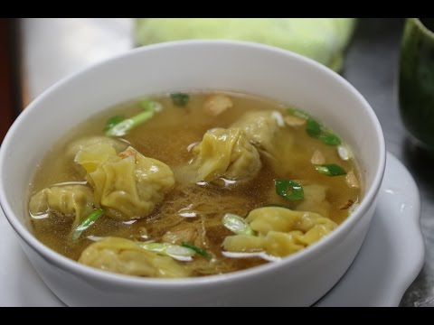 How to make dumpling soup broth