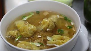 Hong Kong Style Wonton Noodle Soup 雲吞麺