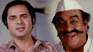 Farooq Sheikh denies for working in Funeral Store   Comedy Scene - Peechha Karro