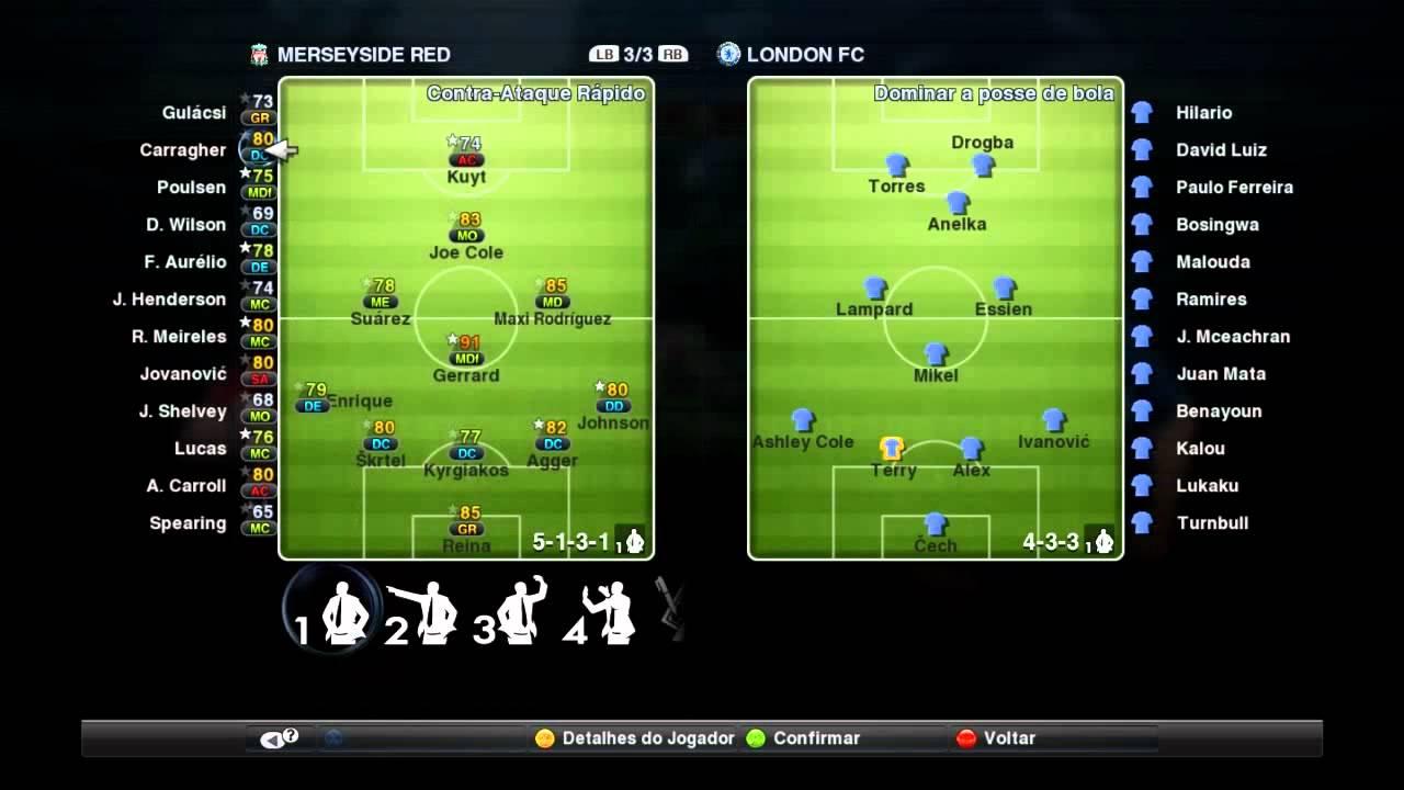 Fifa 12 vs pes 2012.