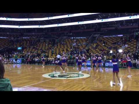 Brookline High School Cheer at Boston Celtics 2014