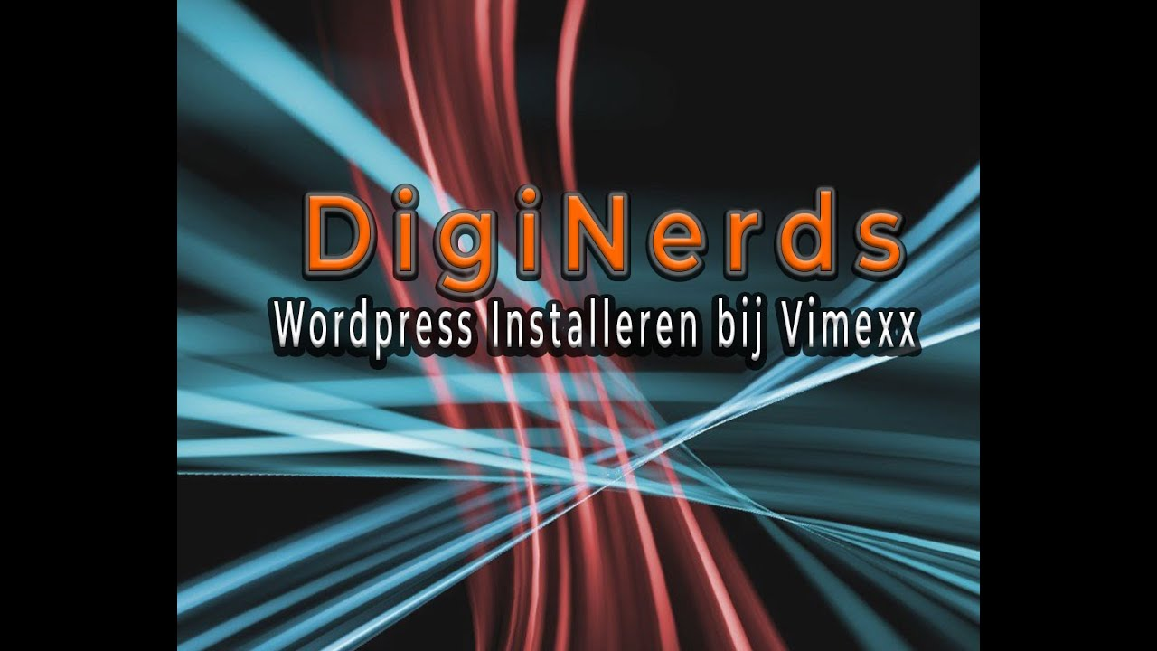1  Installeren Wordpress op Vimexx Hosting