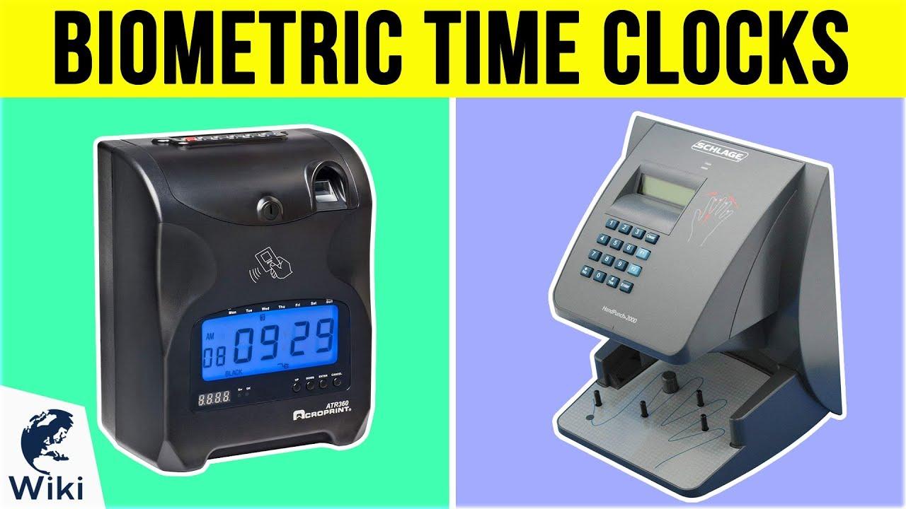 10 Best Biometric Time Clocks 2019
