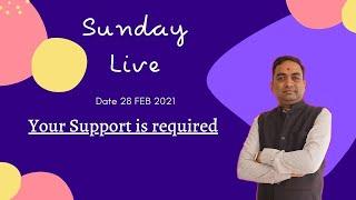 Sunday Live | Date 28 Feb 2021