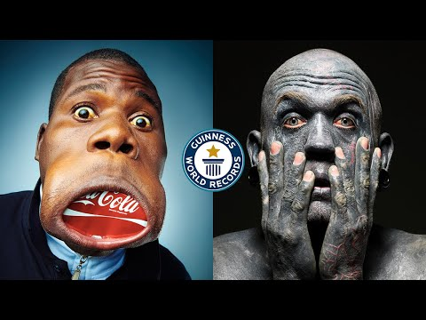 DANG! Them Faces... - Guinness World Records