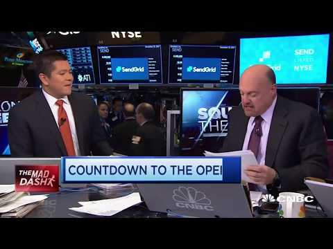 Mad Money Jim Cramer announces Square cash getting involved with Bitcoins!