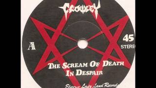 "Crowley (Japan) ""The Scream of Death"" 8"" 1985.  Side A: ""The Scream of Death/In Despair"""