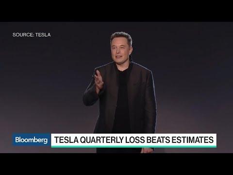 Model 3 on Track as Tesla Posts Narrower Quarterly Loss
