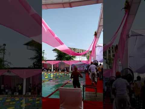 Major dhyan chand Stadium swimming pool