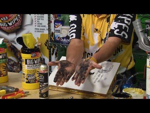 6 вариантов очистки рук от герметика