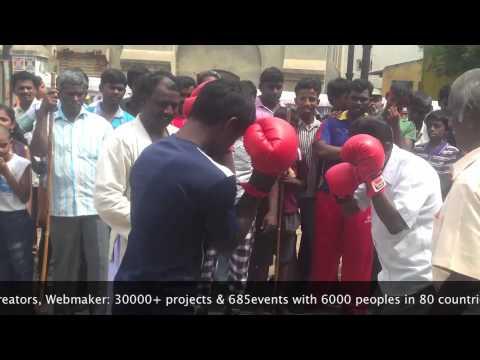 Gudiyatham Gangai Amman Fest 2013 -- Boxing