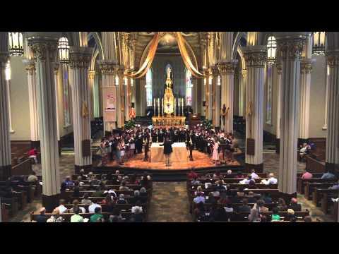 "Notre Dame Liturgical Choir performs Morten Lauridsen's ""O Nata Lux"""
