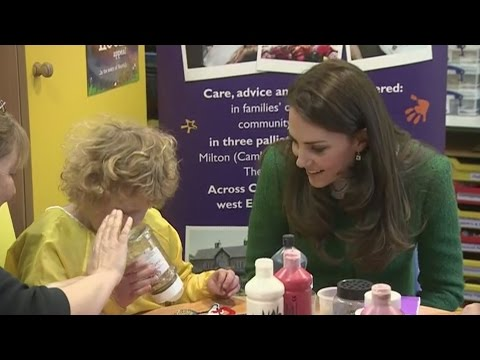 Kate pays visit to children's hospice in Norfolk