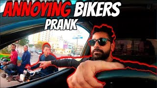 ANNOYING BIKERS PRANK | The Great Mohammad Ali