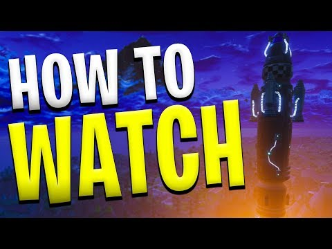 How To Watch Fortnite Rocket Launch If You Missed It! (FORTNITE REPLAY TUTORIAL)