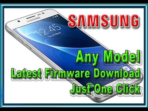 Samsung Upgrade Firmware Download Just one Click