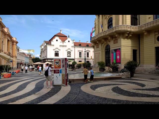 Pécs - The City of Mediterranean Impressions