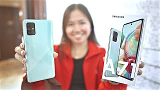SAMSUNG GALAXY A71 UNBOXING & REVIEW (CAMERA, VIDEO & AUDIO SAMPLES)