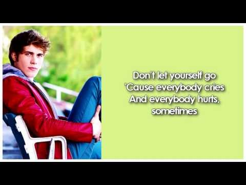 Glee - Everybody Hurts (Lyrics)