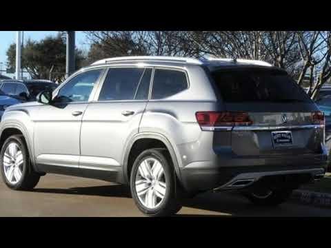 New 2019 Volkswagen Atlas Dallas TX Garland, TX #V190289 - SOLD