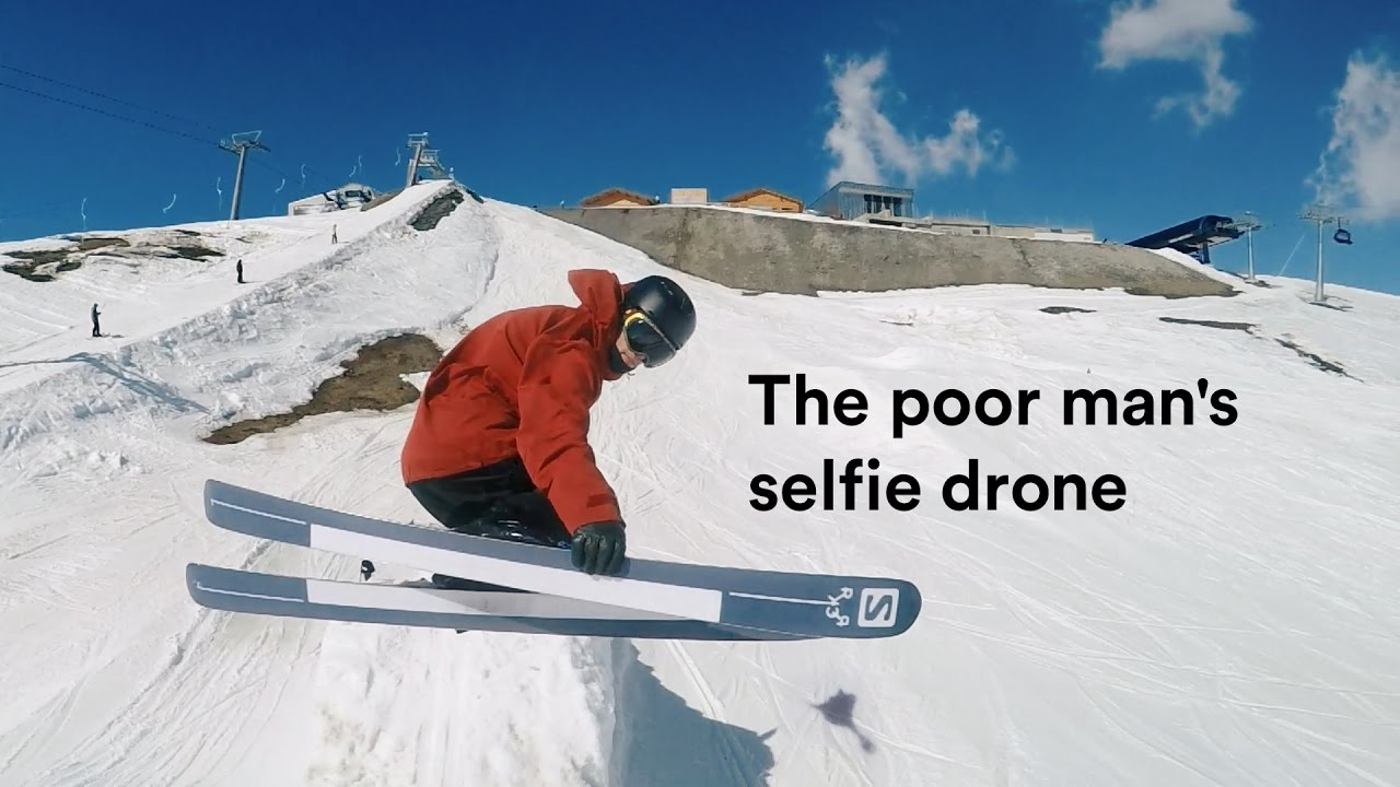 The poor man's selfie drone