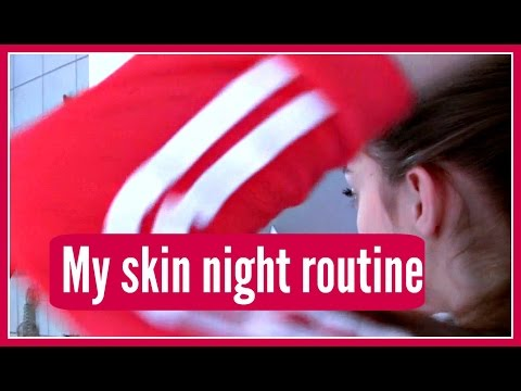 My skin night routine | Rebekka Andrine