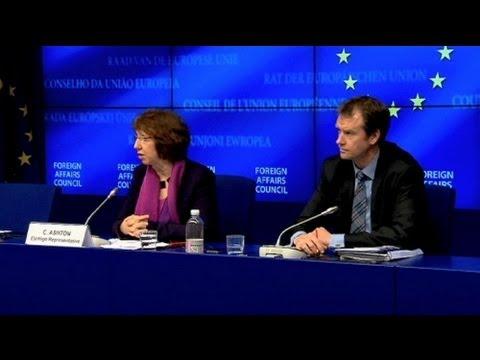 European Union confirms it won't ship weapons to Syria