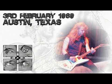 Metallica - Live at Frank Erwin Center, Austin, TX, USA (1989) [SBD Audio Only]