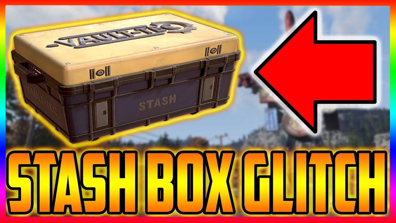 fallout 76 Unlimited Storage / Stash Box Glitch Still Works After Hot Fix