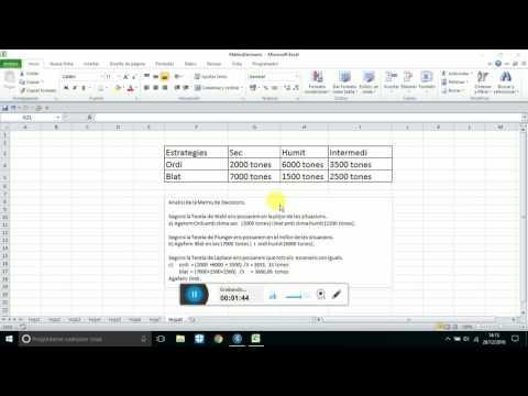 Criterio Optimista O De Plunger  Para Una Matriz De Decision En Excel