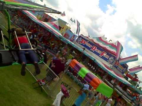 hang glider ride at hamburg fair