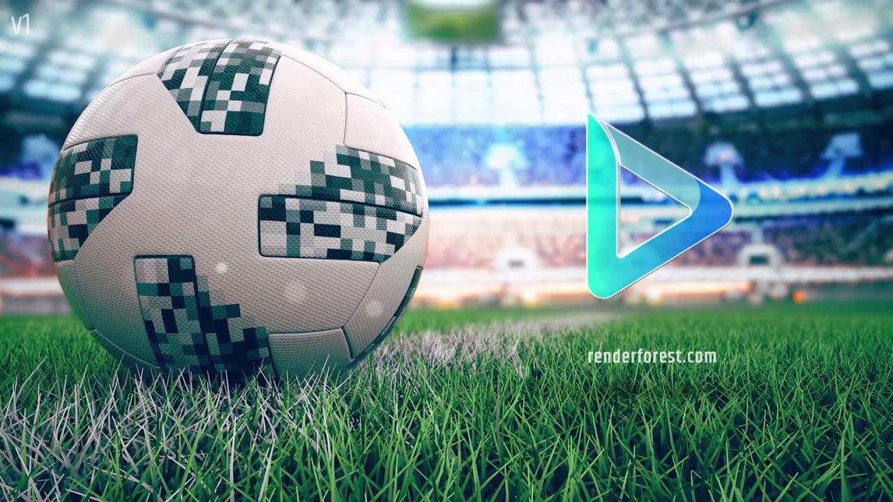3D Soccer Logo Animation