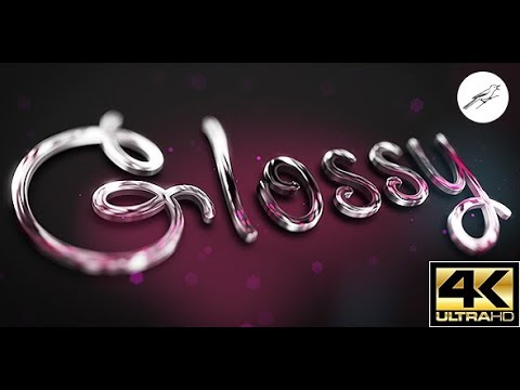 Glossy Logo 1 | After Effects Template | Logo Stings - YouTube